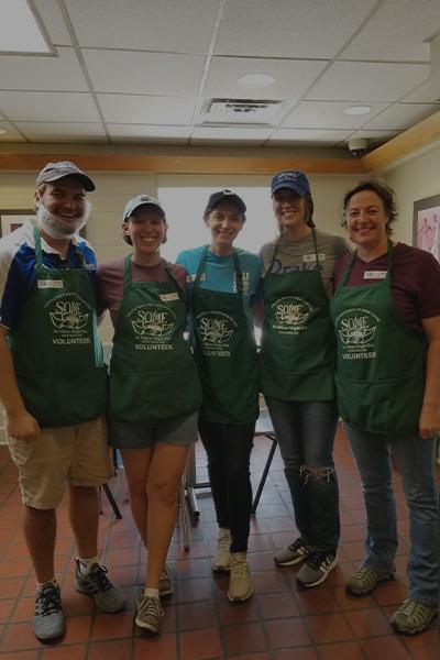 Group of Alumni Volunteering
