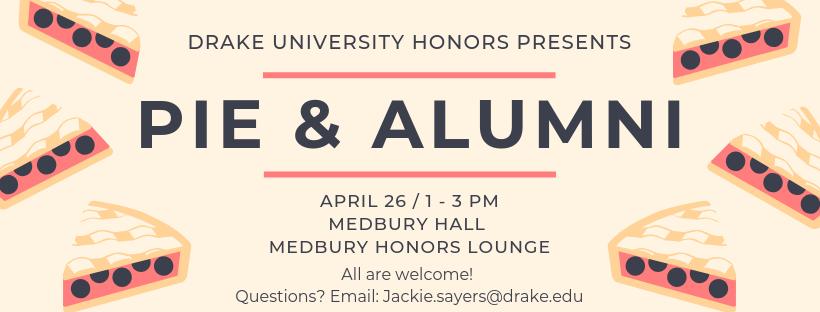 Pie & Alumni Event