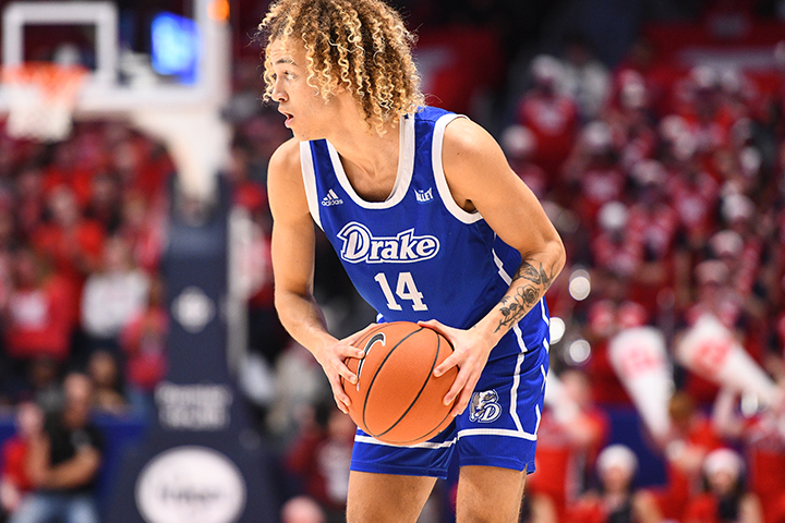 Drake Basketball Player