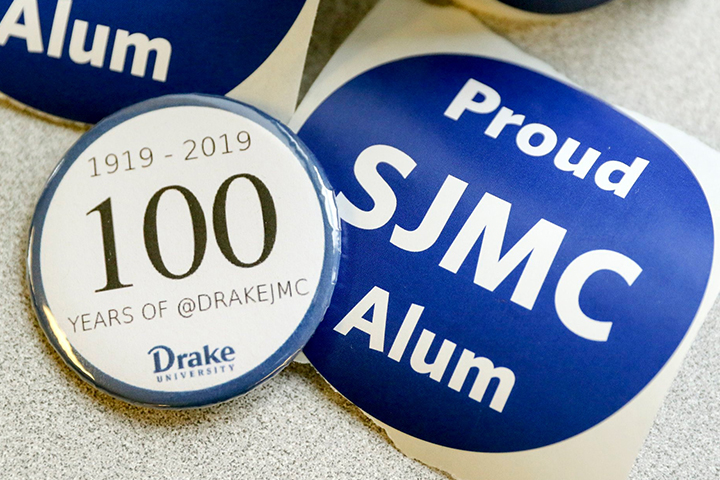 Proud SJMC Alum Button