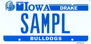 Drake License Plates